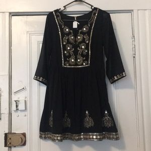 Free People Beaded Sequin Dress